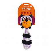 Rosewood Jolly Doggy Multi-Activity Raccoon Toy