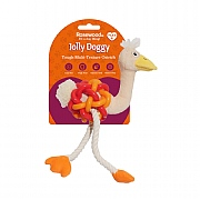 Rosewood Jolly Doggy Multi-Texture Ostrich Toy