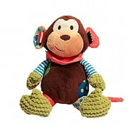 Rosewood Chubleez Mitchell Monkey Dog Toy