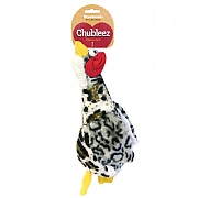 Rosewood Chubleez Quackers Grey Dog Toy