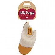 Rosewood Jolly Doggy Lost Soles Slipper Dog Toy