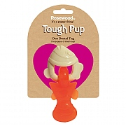 Rosewood Tough Pup Duo Texture Dental Tug Fish