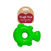Rosewood Tough Toys Squeaky Fish Dog Toy