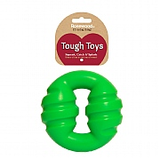 Rosewood Tough Toys Squeaky Ring Dog Toy