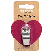 Rosewood Nickel Plated Dog Whistle