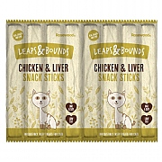 Rosewood Leaps & Bounds Chicken & Liver Snack Sticks 8 Pack 40g