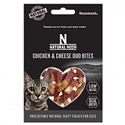 Rosewood Natural Nosh Chicken & Cheese Duo Bites 50g