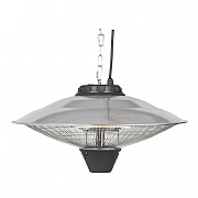 La Hacienda Silver Series Hanging Outdoor Heater