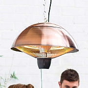 La Hacienda Copper Series Hanging Halogen Heater
