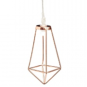 Cole & Bright 10 Dual Powered Rose Gold Diamond String Lights
