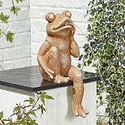 Kelkay Sitting Frog Water Ornament