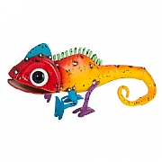 Cara the Chameleon Metal Garden Ornament