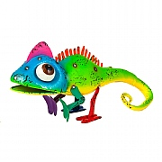 Casper the Chameleon Metal Garden Ornament