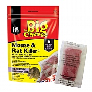 The Big Cheese Mouse & Rat Killer Pasta Sachets (Pack of 6)