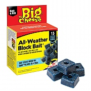 The Big Cheese All-Weather Block Bait (Pack of 15)