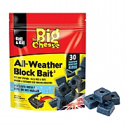The Big Cheese All-Weather Block Bait (Pack of 30)