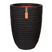 Cadix Capi Nature Dark Brown Elegant Low Vase Planter Row NL 36x47cm