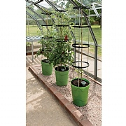 Garland Self Watering Grow Pot Tower - Green