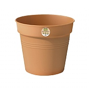 Elho Green Basics 13cm Growpot - Mild Terracotta