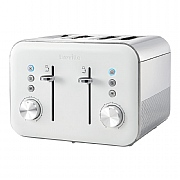 Breville High Gloss 4 Slice Toaster White