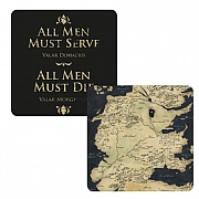 Game of Thrones All Men Lenticular Coaster