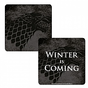 Game of Thrones Stark Lenticular Coaster