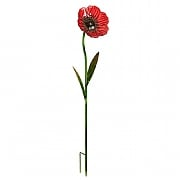 Smart Garden Poppy Glass Flower Stake