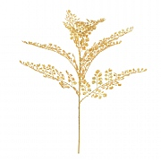 Gold Sparkle Maidenhair Spray 55cm