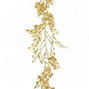 Gold Sparkle Mini Ivy Garland 180cm