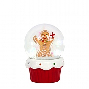Gisela Graham Gingerbread Man Mini Dome