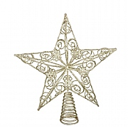 Gisela Graham Gold Wire Star Tree Topper