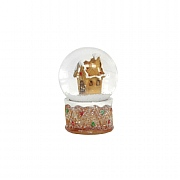 Gisela Graham Gingerbread House Resin & Glass Mini Dome
