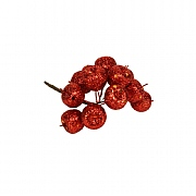 Gisela Graham Red Glitter Acrylic Cherry Bunch