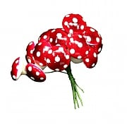 Gisela Graham Acrylic Toadstool Pick Bunch