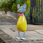 Smart Garden Mega Mouse Metal Garden Ornament