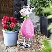 Smart Garden Spotty Cow Metal Garden Ornament