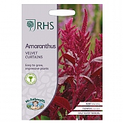 RHS Amaranthus Velvet Curtains Seeds
