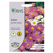 RHS Aster Alpine Mixed Seeds