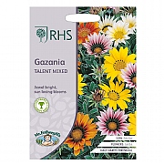 RHS Gazania Talent Mixed Seeds
