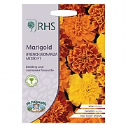 RHS Marigold (French) Bonanza Mixed F1 Seeds