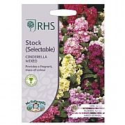 RHS Stock (Selectable) Cinderella Mixed Seeds