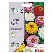 RHS Zinnia Oklahoma Mix Seeds
