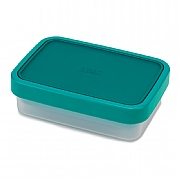 Joseph Joseph Go Eat Space-Saving Lunchbox Teal