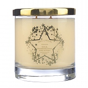 Wax Lyrical Gold, Frankincense & Myrrh Large Glass Candle