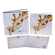 Wrendale 'Giraffe' Notecard Pack
