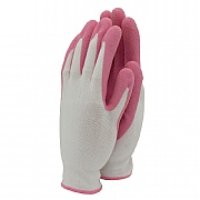 Town & Country Bamboo Weed Master Gardening Gloves Pink - Small