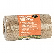 Garland Natural 3 Ply Jute Twine - 100g