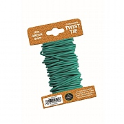 Garland Green Cushioned Twist Tie - 3mm x 10m