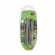 Garland Wire Fleece & Fabric Pegs (10)