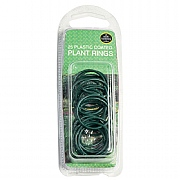 Garland Plastic Coated Plant Rings - 25 Pack